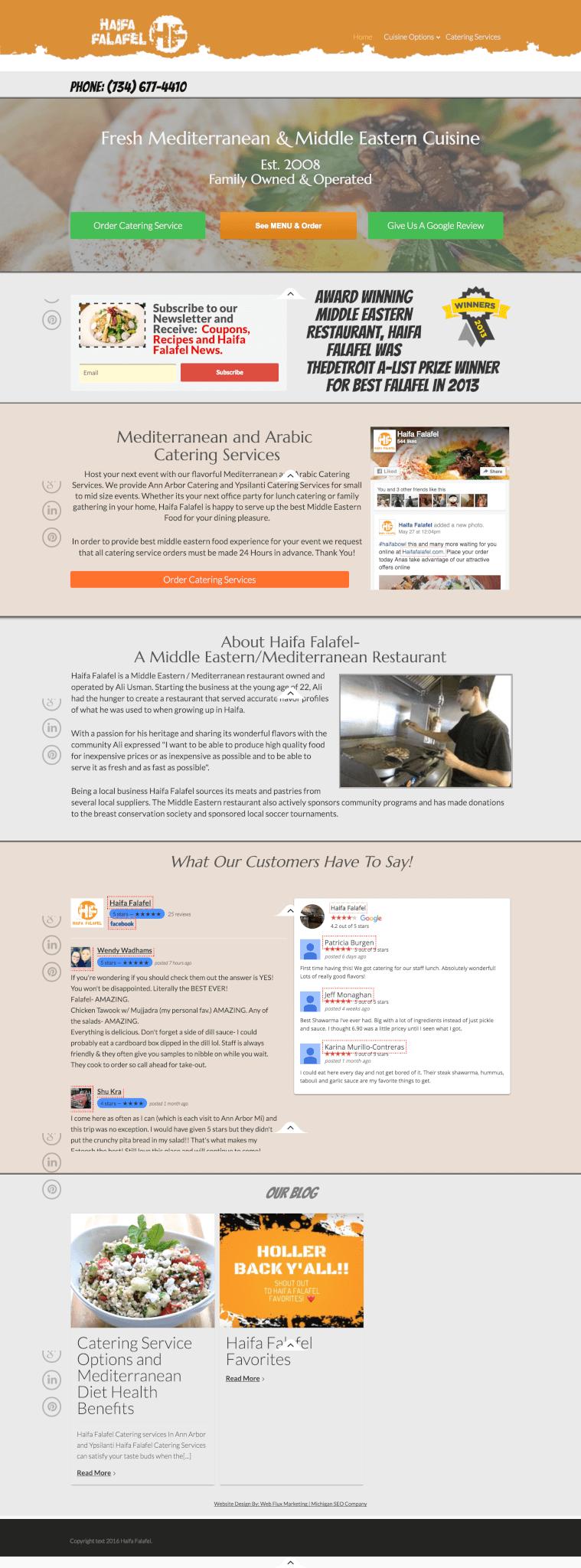 Web design seo ppc flux michigan marketing company